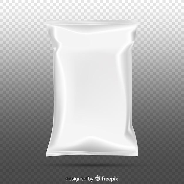 Paquete snacks vector gratuito