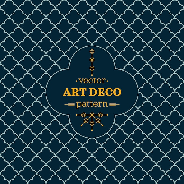 Patr n abstracto art deco descargar vectores gratis for Art et decoration abonnement