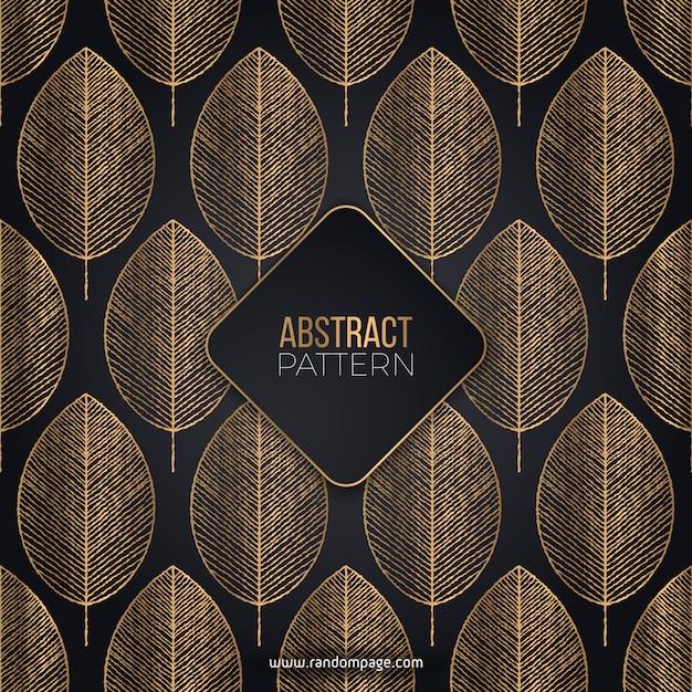 Patrón abstracto de lujo vector gratuito