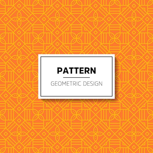 Patrón abstracto ornamental Vector Gratis