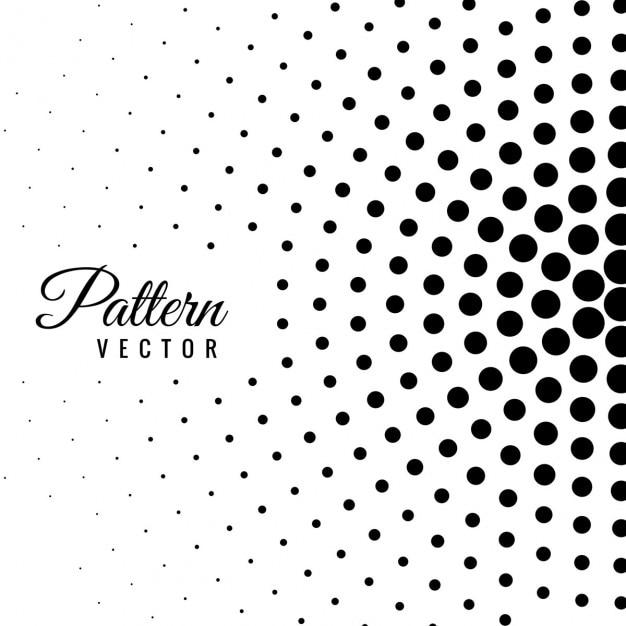 Patrón abstracto con puntos | Descargar Vectores gratis