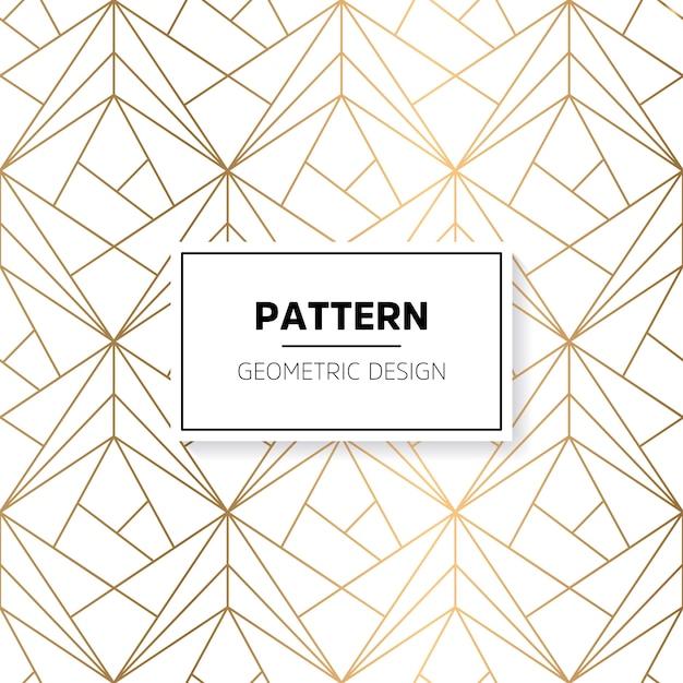 Patrón brilloso con formas geométricas Vector Gratis