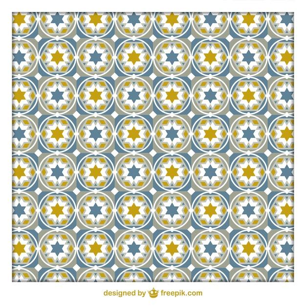 patrón de azulejos geométricos árabes | descargar vectores
