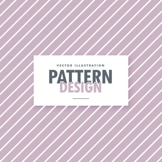 Patrón de líneas blancas sobre fondo morado | Descargar Vectores gratis