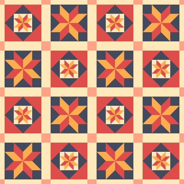 Patr n tnico sin costuras en estilo de patchwork - Estilo patchwork ...