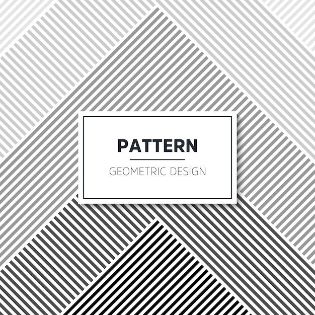 Patrón geométrico abstracto vector gratuito