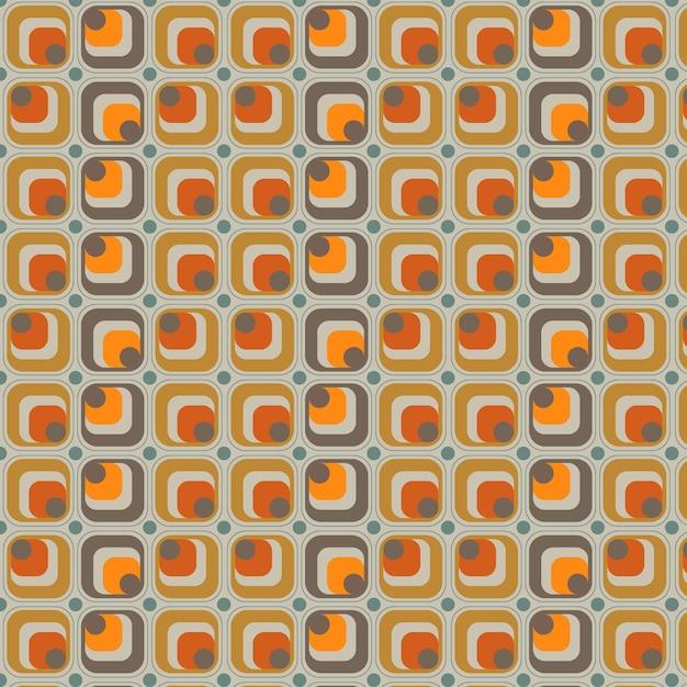Patrón geométrico groovy vector gratuito