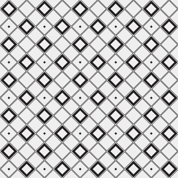 Patrón geométrico hecho con cuadrados trazados   Descargar Vectores ...