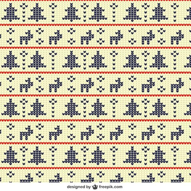 Patrón geométrico de navidad en estilo punto de cruz | Descargar ...