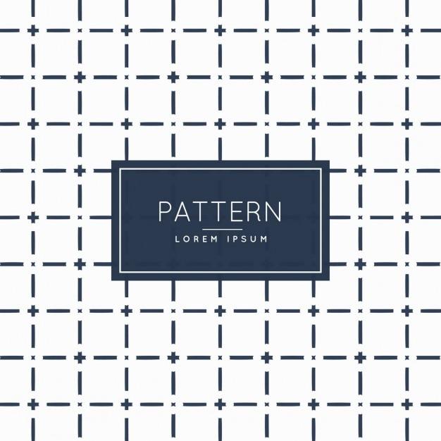 Patrón geométrico con retícula de líneas | Descargar Vectores gratis