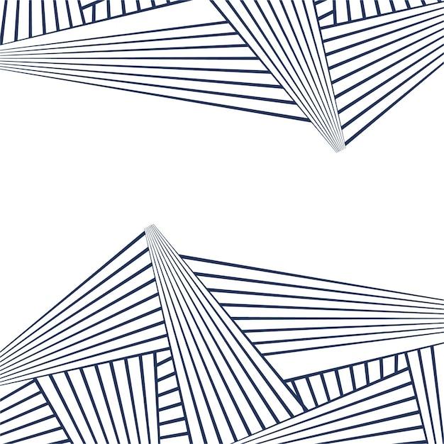 Patrón de lineas abstractas geométrico | Descargar Vectores gratis