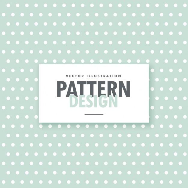 Patrón de puntos blancos sobre un fondo verde | Descargar Vectores ...