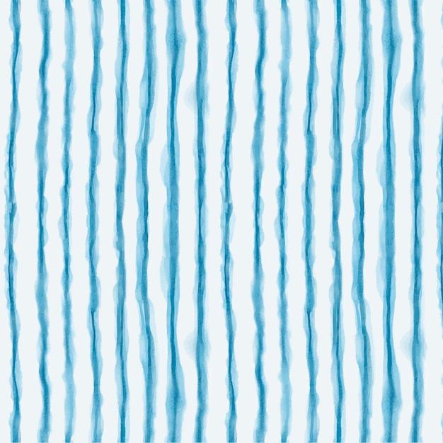 Patrón de shibori de líneas de acuarela vector gratuito
