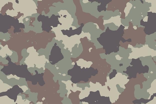 Patrón transparente de camuflaje con malla de lona. camuflaje de estilo moderno, repetición de impresión. Vector Premium