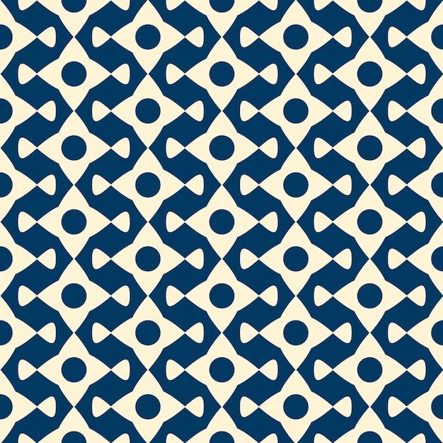 Patrón transparente de vector con objetos repetidos. diseño gráfico minimalista monocromo. vector gratuito