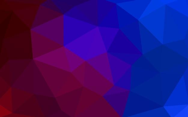 Patrón De Vector Rojo Azul Oscuro