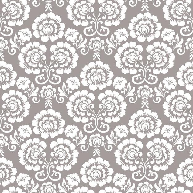 Patrones sin fisuras florales ornamentales vector gratuito