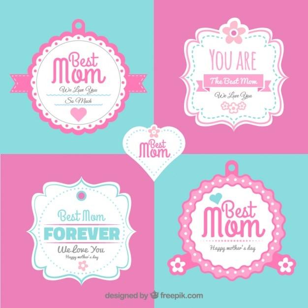 Pegatinas decorativas del d a de la madre en estilo for Pegatinas decorativas