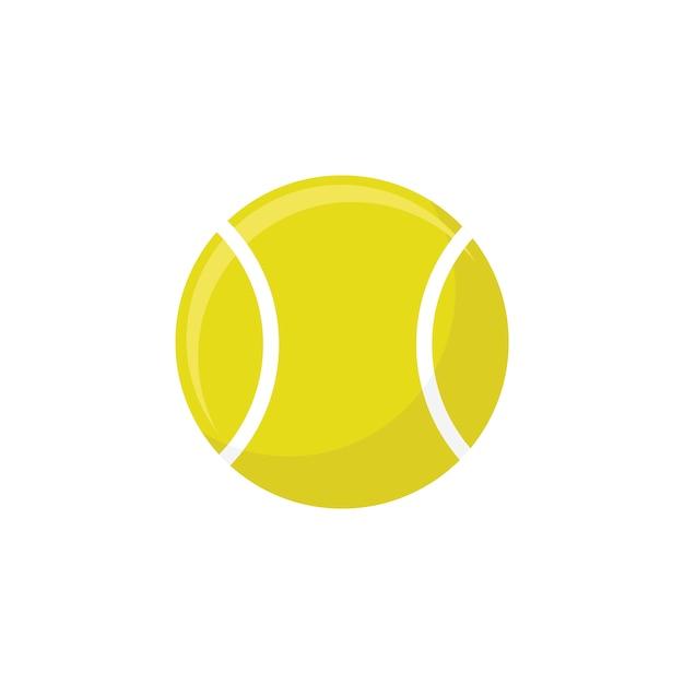 Pelota de tenis vector gratuito