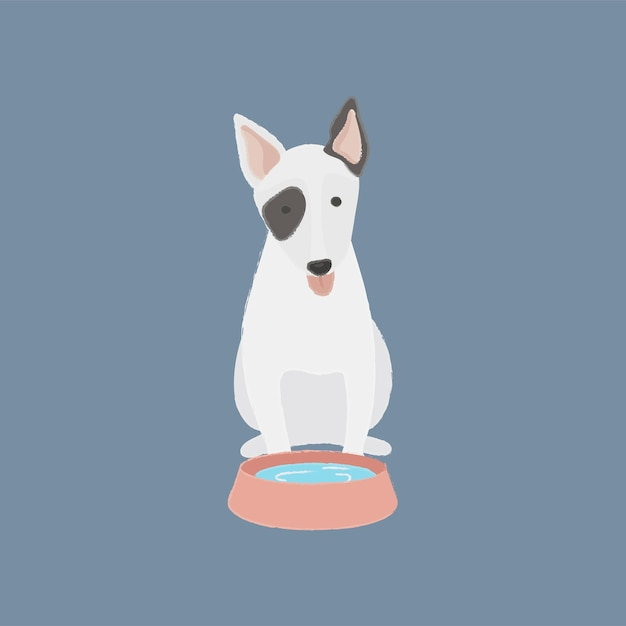 Perro vector gratuito