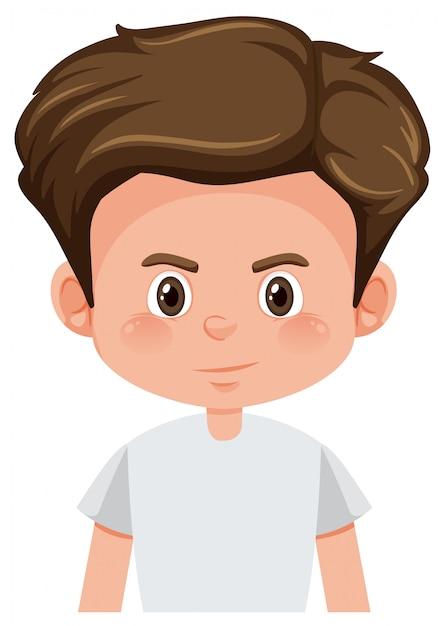 Un personaje joven vector gratuito