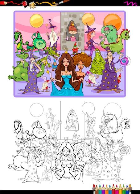 Excelente Fotos De Fantasía Para Colorear Foto - Dibujos Para ...