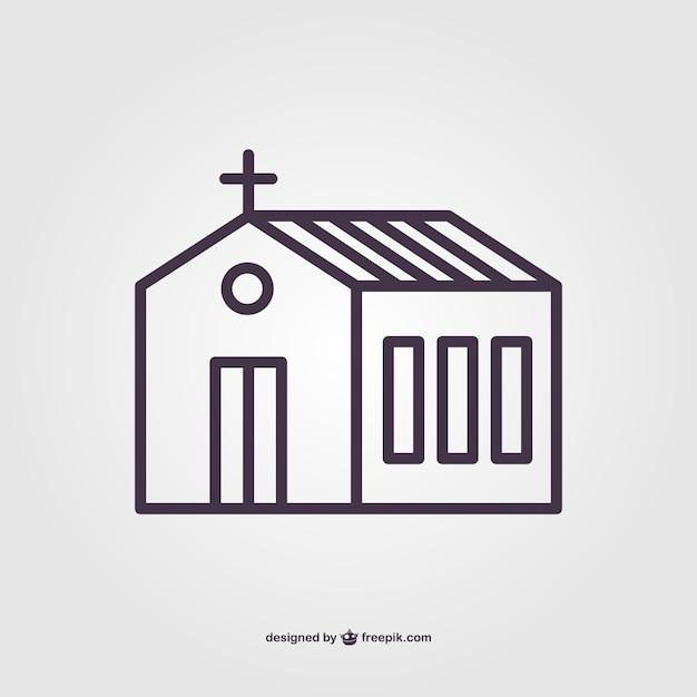 Pictograma de iglesia | Descargar Vectores gratis