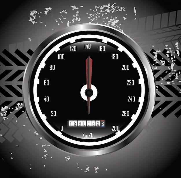 Pistas de neumáticos Vector Premium