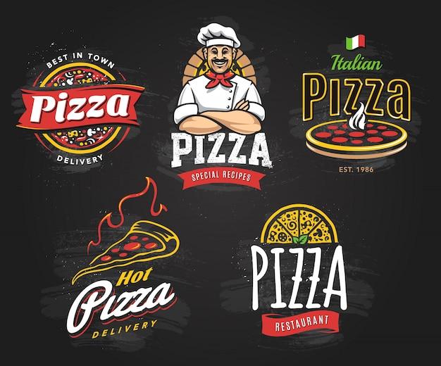 Pizza vector gratuito