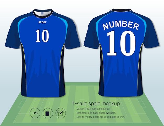 Plantilla de camiseta de fútbol para club de fútbol  208784c5a3b35