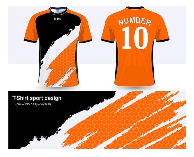 Plantilla de camiseta de fútbol para uniformes del club de fútbol ... 998e653db42e6