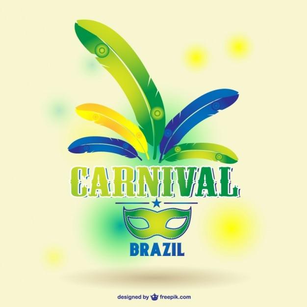 Plantilla carnaval gratis | Descargar Vectores gratis