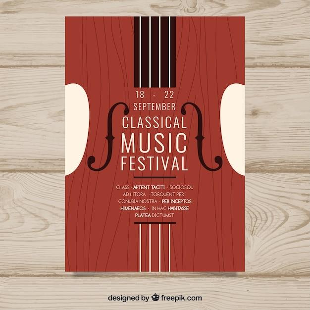 fc4dda78526bd Plantilla de cartel de música clásica