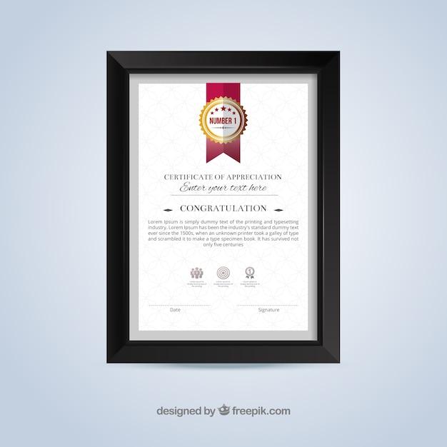 1119db78b Plantilla de certificado de reconocimiento