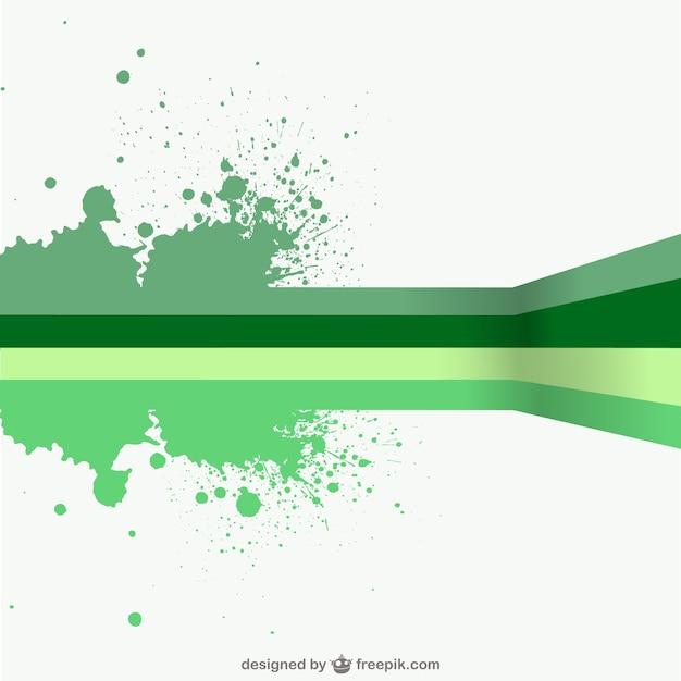 Plantilla con salpicaduras de pintura verde descargar vectores gratis - Salpicaduras de pintura ...