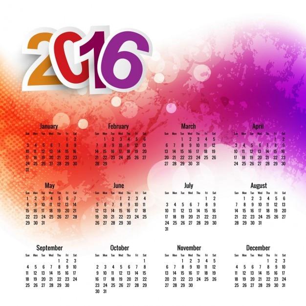 Lujoso Calendario Plantilla 2014 Imprimible Regalo - Colección De ...