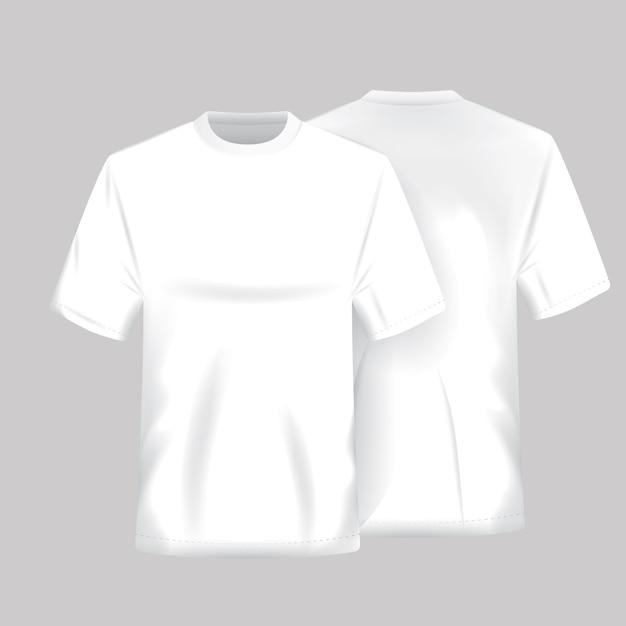 Encantador Plantillas De Camisa En Blanco Friso - Colección De ...