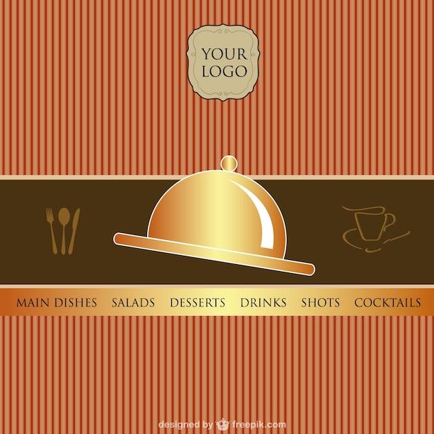 Plantilla de carta de restaurante | Descargar Vectores gratis