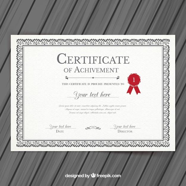 plantilla para diplomas y certificados