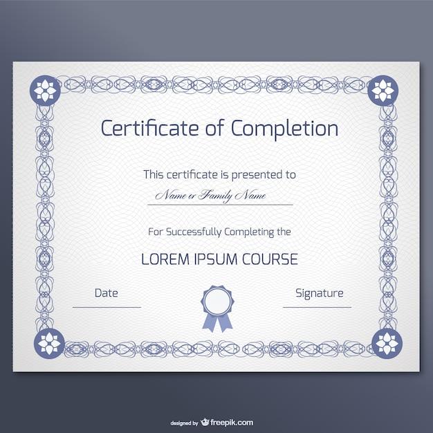 Diploma Vertical   Fotos y Vectores gratis