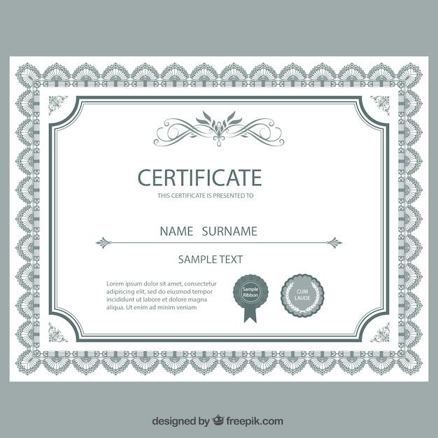 Diploma | Fotos y Vectores gratis