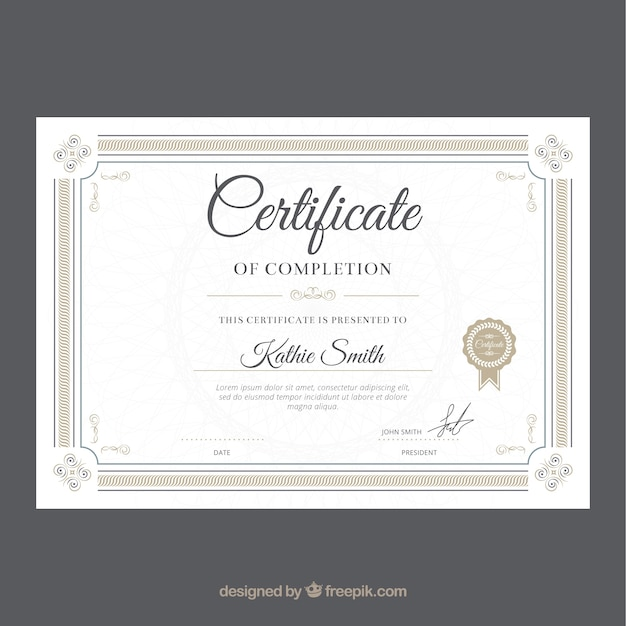 Free Diploma Template Download