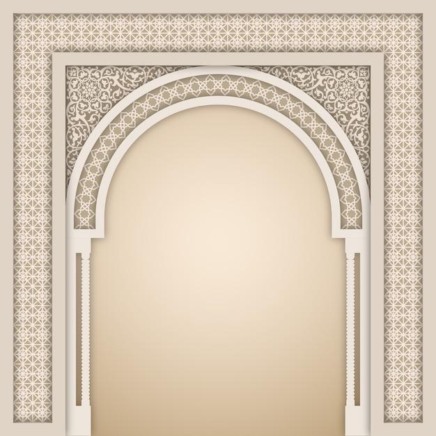 Hall Arch Designs For: Plantilla De Diseño De Arco Islámico
