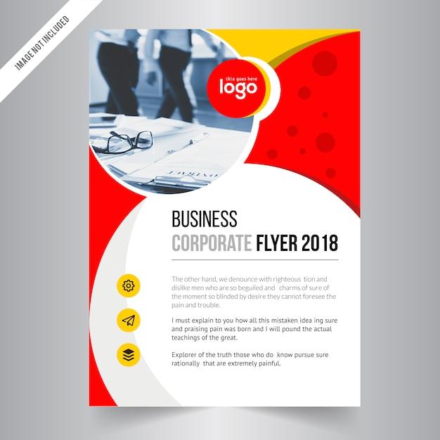 Plantilla de diseño de folleto, fondo de diseño de la cubierta ...