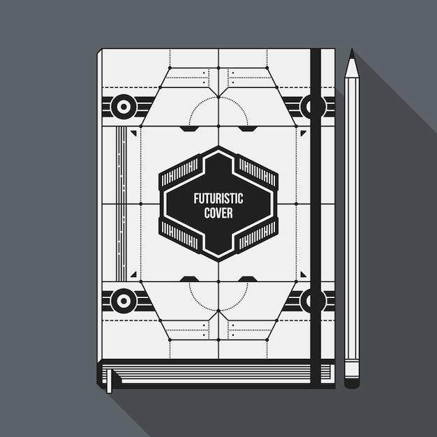 Plantilla de diseño de portada de libro. | Descargar Vectores Premium