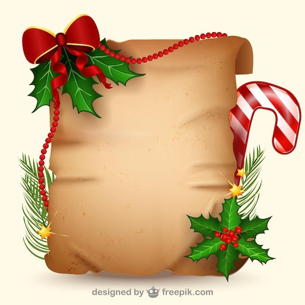 Plantilla de estilo retro para navidad | Descargar Vectores gratis