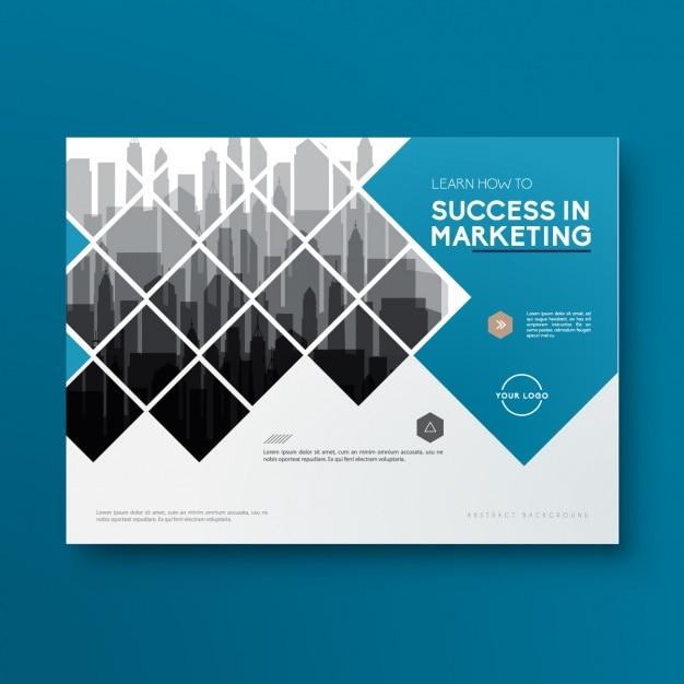Plantilla de folleto de negocios Vector Gratis