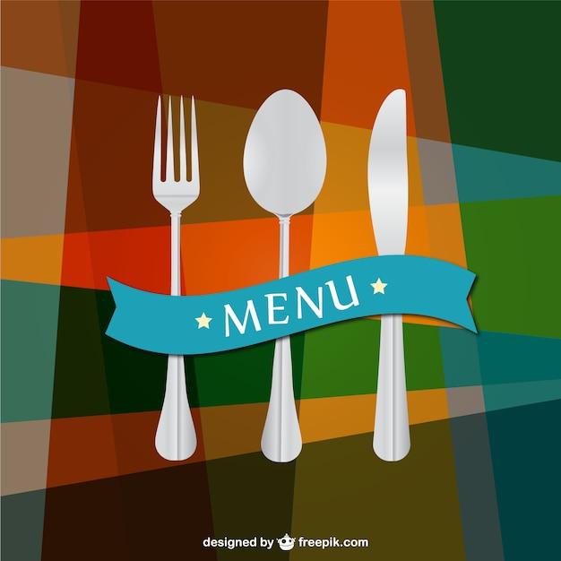 Plantilla de fondo de menú de restaurante | Descargar Vectores gratis