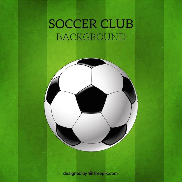 Plantilla de fútbol | Descargar Vectores gratis