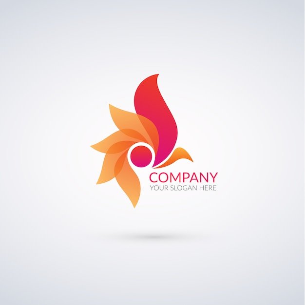 Plantilla de logo abstracto descargar vectores gratis for Logo suggestions free